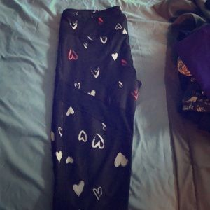 Fabletics Demi Lovato Heart Legging